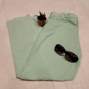 Polo by Ralph Lauren Seafoam Green Linen P…